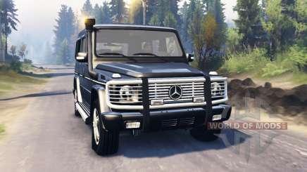 Mercedes-Benz G 500 v2.0 for Spin Tires