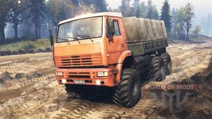 KamAZ-6522 v5.0 for Spin Tires
