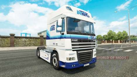 Italtrans skin for DAF truck for Euro Truck Simulator 2