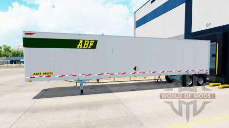 All-metal semitrailer. for American Truck Simulator