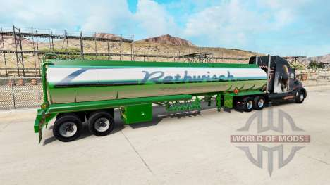 Skin Rethwisch Transport on semi-trailer for American Truck Simulator