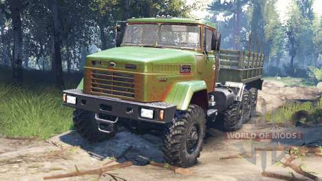KrAZ-7140 v3.0 for Spin Tires