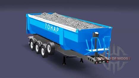 A semi-truck Tonar for Euro Truck Simulator 2