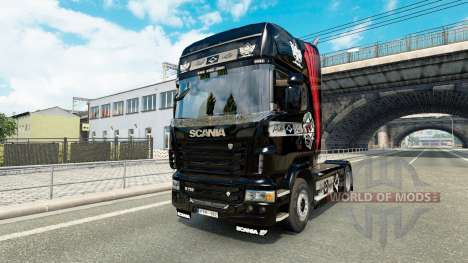 Pikas skin for Scania truck for Euro Truck Simulator 2