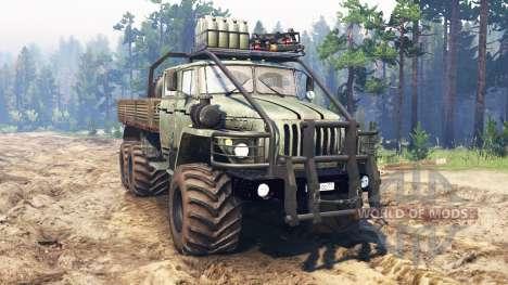 Ural-4320-40 1982 v2.0 for Spin Tires