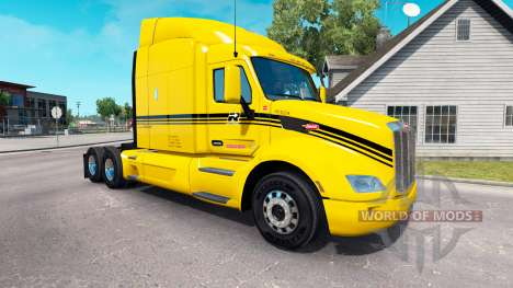 Groupe Robert skin for the truck Peterbilt for American Truck Simulator