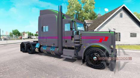 Koliha skin for the truck Peterbilt 389 for American Truck Simulator
