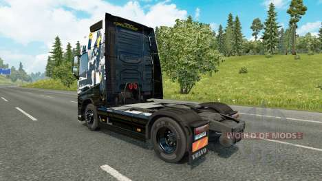 Skin Infamous Second Son for Volvo truck for Euro Truck Simulator 2