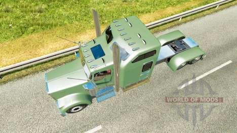 Kenworth W900L 2000 v1.6 for Euro Truck Simulator 2