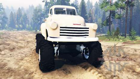 Chevrolet 3100 1951 for Spin Tires