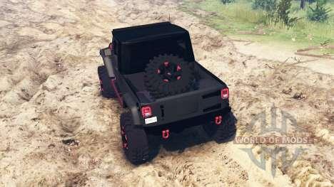 Jeep Wrangler JK8 for Spin Tires