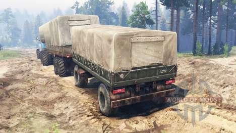 Ural-4320-10 10x10 for Spin Tires
