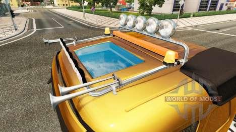 Lightbar, Volvo for Euro Truck Simulator 2