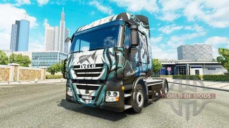 Skin Klanatrans on the truck Iveco for Euro Truck Simulator 2