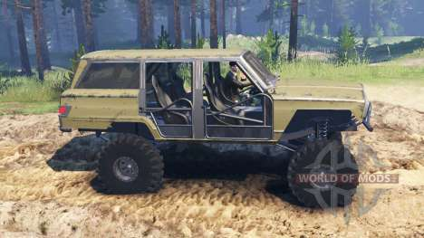 Jeep Wagoneer 1978 [without doors] for Spin Tires