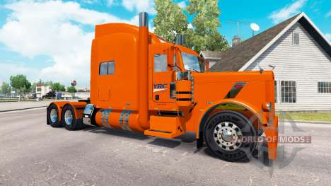 Skin YRC Freight for the truck Peterbilt 389 for American Truck Simulator
