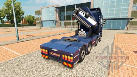 Chassis 8x4 Scania for Euro Truck Simulator 2