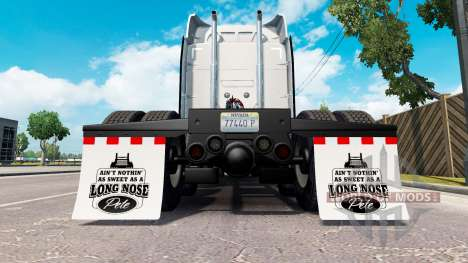 HD mud flaps v1.2 for American Truck Simulator
