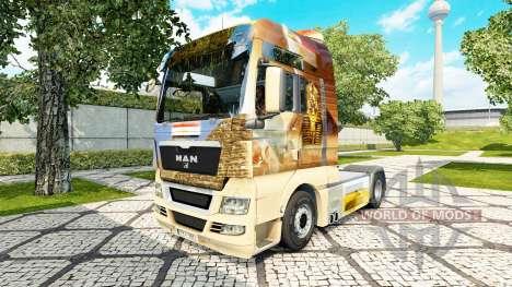 Egypt skin for MAN truck for Euro Truck Simulator 2