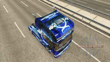 Dub Step skin for Scania truck for Euro Truck Simulator 2