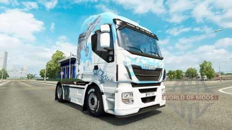 Skin Klanatrans v2.0 Iveco tractor for Euro Truck Simulator 2