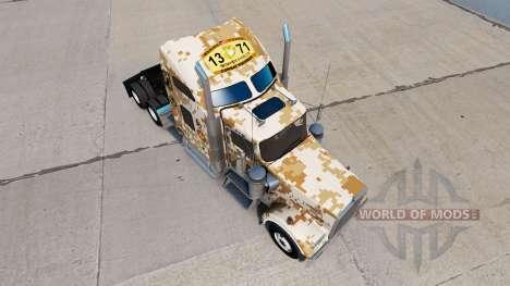 Skin Marines Combat Engineers of the Kenworth tr for American Truck Simulator
