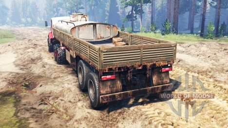 KrAZ-65032 2012 for Spin Tires