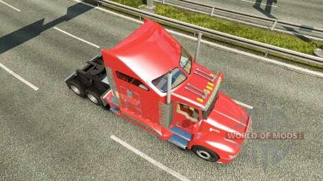 Kenworth T660 [fix] for Euro Truck Simulator 2