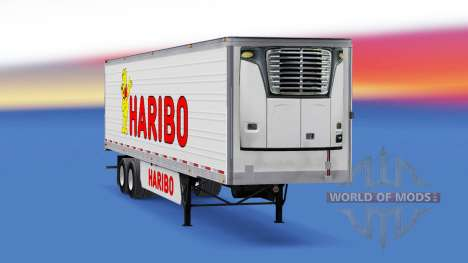 Skin Haribo on the trailer for American Truck Simulator
