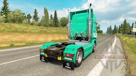 Toll skin for Scania truck for Euro Truck Simulator 2
