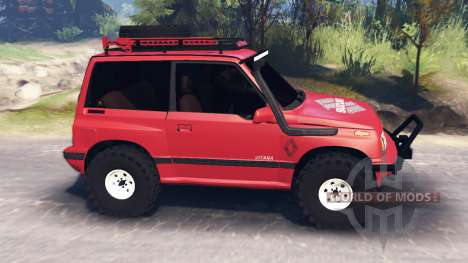 Suzuki Grand Vitara v3.0 for Spin Tires
