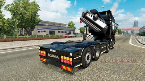 Chassis 8x4 Scania v1.1 for Euro Truck Simulator 2