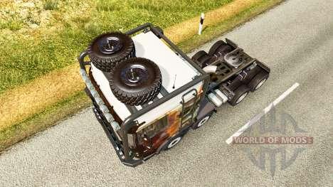 DAF XF [crawler & high lift] for Euro Truck Simulator 2