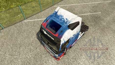 Russia skin for Volvo truck for Euro Truck Simulator 2