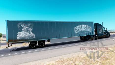 Chicano skin for the truck Peterbilt for American Truck Simulator