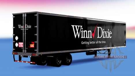 All-metal semi-Winn Dixie for American Truck Simulator
