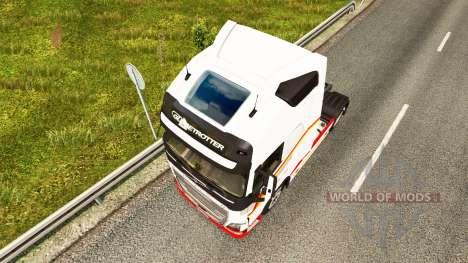 Vintage skin for Volvo truck for Euro Truck Simulator 2