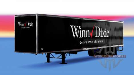 All-metal semi-Winn Dixie for American Truck Simulator