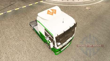 Skin Westdijk B. V. MAN. for Euro Truck Simulator 2