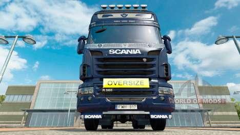 Oversize Sign for Euro Truck Simulator 2