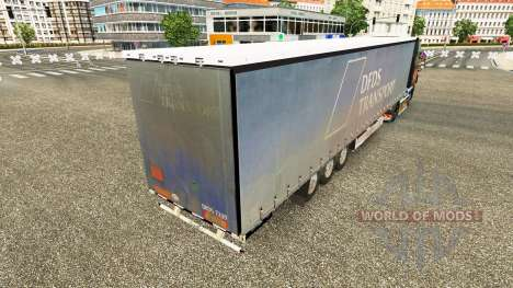 Semitrailer Krone Paperliner for Euro Truck Simulator 2