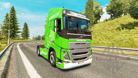 Xbox One skin for Volvo truck for Euro Truck Simulator 2