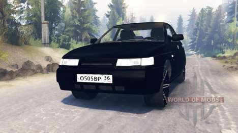 VAZ-2112 for Spin Tires