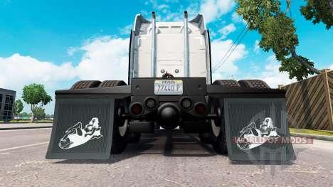 HD mud flaps v1.2 for American Truck Simulator