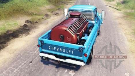 Chevrolet Apache 1959 v4.0 for Spin Tires