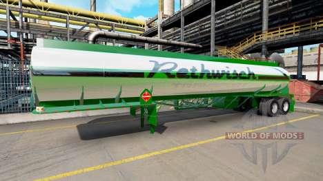 Skin Rethwisch Transport on semi-trailer for American Truck Simulator