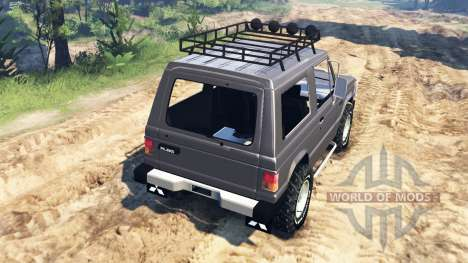 Mitsubishi Pajero I v4.0 for Spin Tires