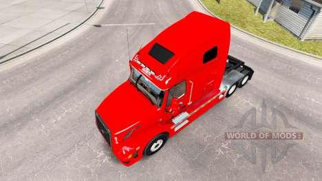 Skin Home Run for the truck Volvo VNL 670 for American Truck Simulator