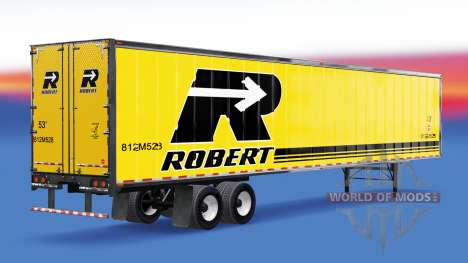 Canadian skins on the trailer for American Truck Simulator