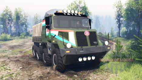 Tatra 163 Jamal 8x8 v6.0 for Spin Tires